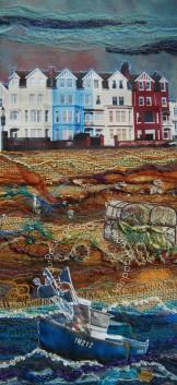 'Aldeburgh Beach' - original sold - print - card