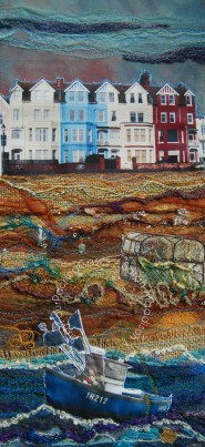 'Aldeburgh Beach' - original sold - print - card