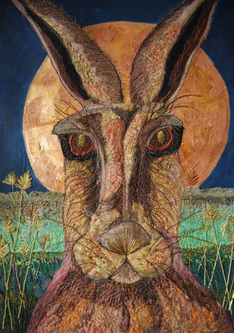 'The Witchy Hare' - original sold - print - card