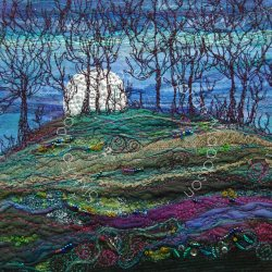 'Moonlight Woods' - original sold - print