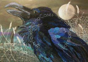 'The Crow' - original sold - print - card