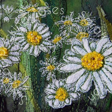 'The Field where the Daisies are' - original sold - card