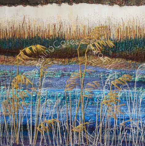 'The Reeds' - original sold -card