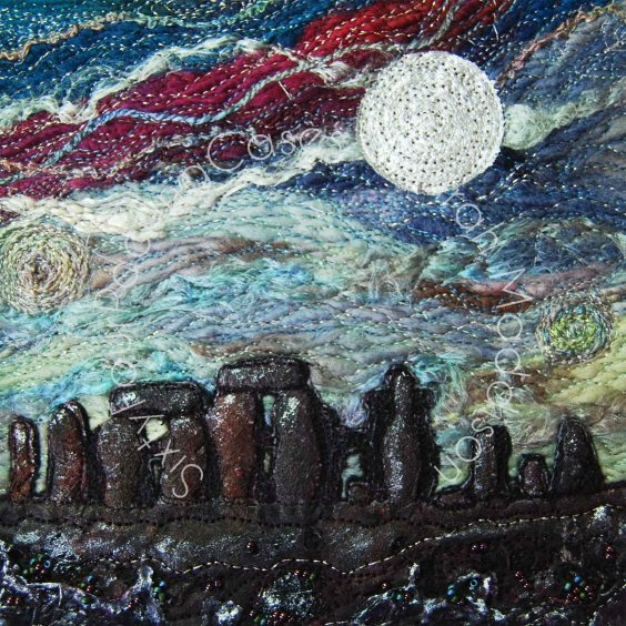 'The very Temple of the Winds' - original sold - print - card