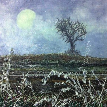 'Winter Mists and Frosty Hedgerows' - original sold available as print and card